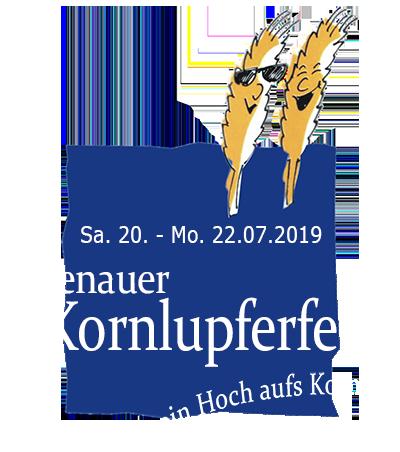 43. Kornlupferfest – Sa. 20. – Mo. 22. Juli 2019