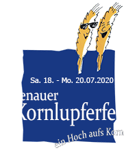44. Kornlupferfest – Sa. 18. – Mo. 20. Juli 2020