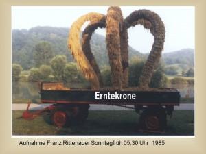 25-Jahre-Kornlupferfest   Präsentation Franz Rittenauer